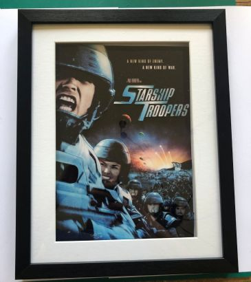 Starship Troopers 3D Diorama Shadow Box Art